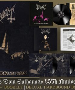 Mayhem De Mysteriis Dom Sathanas 25th Anniversary Version Limited Box 5x Lp Vinyls Book 96 Pages Alone Metal Store